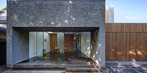 Contoh Desain Rumah Batu Alam Paling Keren Sejauh Ini