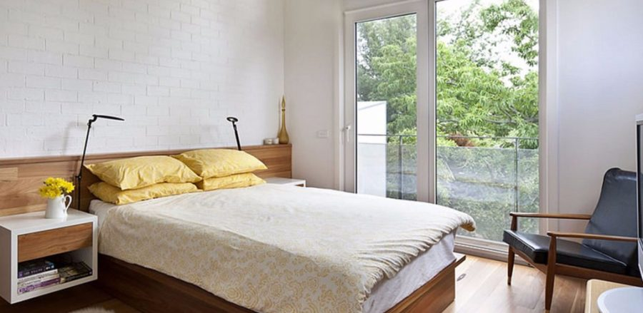 Kusen jendela kamar berbentuk sliding UPVC