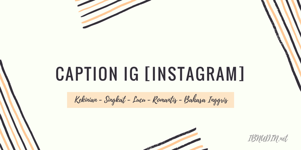 caption ig instagram