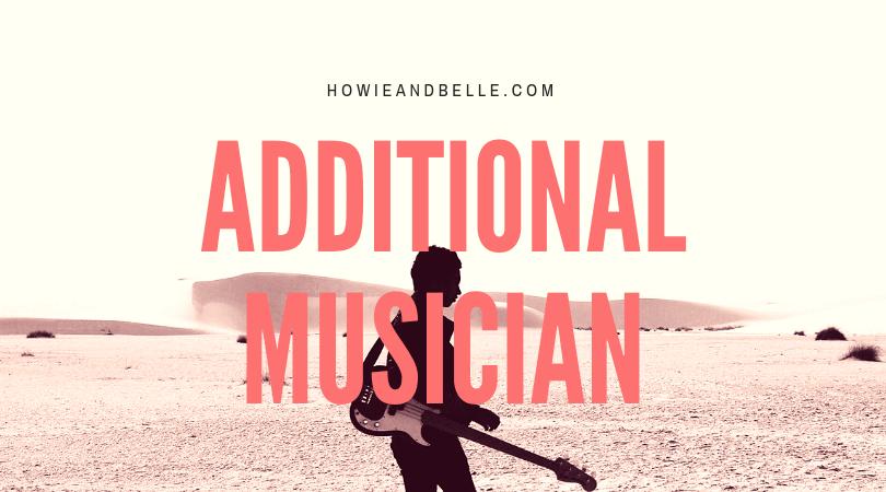 Peluang Menjadi Additional Musician