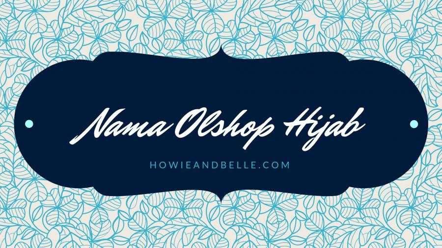 nama olshop hijab