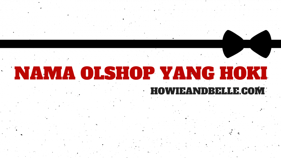 nama olshop yang hoki