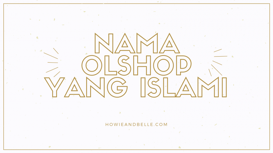 nama olshop yang islami