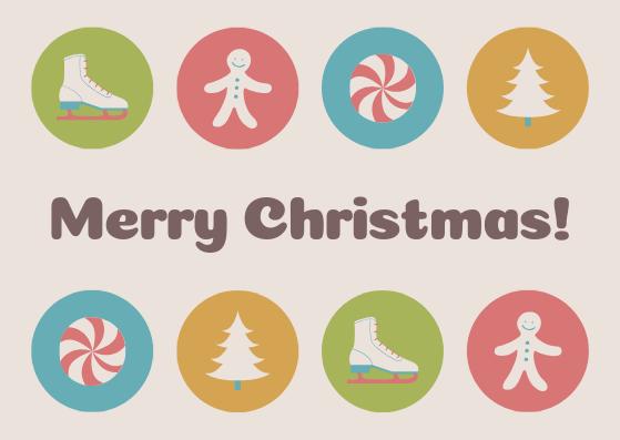 Kartu Ucapan Selamat Natal 2018