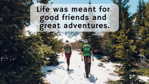 Caption Tentang Sahabat - Berpetulang Bersama