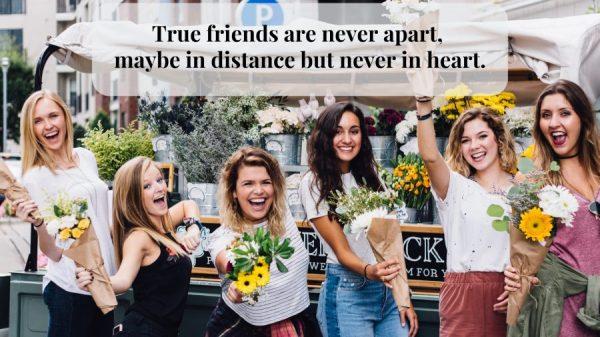Caption Tentang Sahabat - Tidak pernah berpisah dan terpisah