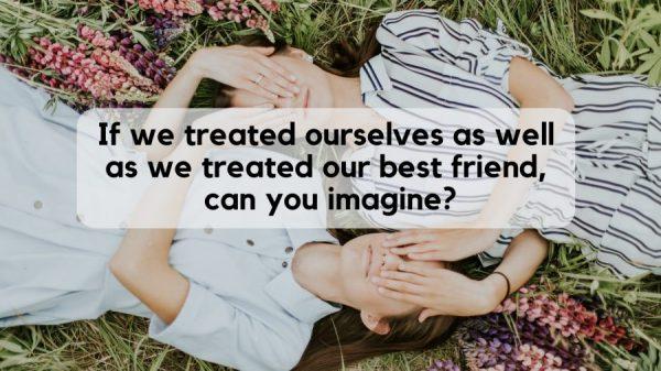 Caption Tentang Sahabat - Berlaku baik kepada teman