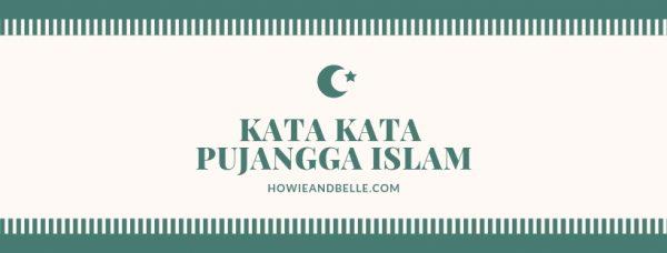 Kata Kata Pujangga Islam