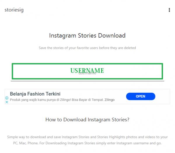 20190503 - 02 - 4 Cara Download Instagram Stories Melalui Aplikasi - STORIESIG