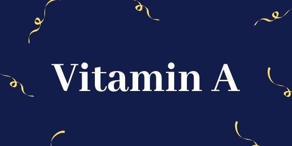 Vitamin Ibu Hamil dan Janin Yang Penting - 5 - Vitamin A