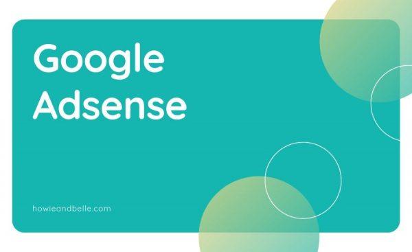 01 - Cara Pertama Mendapatkan Uang Dari Blog - Google Adsense
