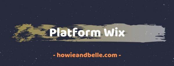 cara membuat blog gratis dengan wix
