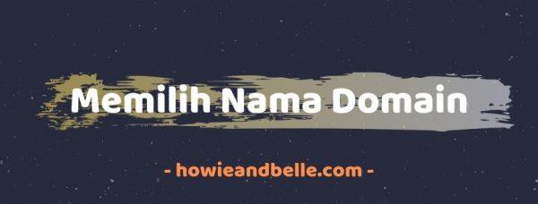 cara membuat blog pribadi - memilih nama domain