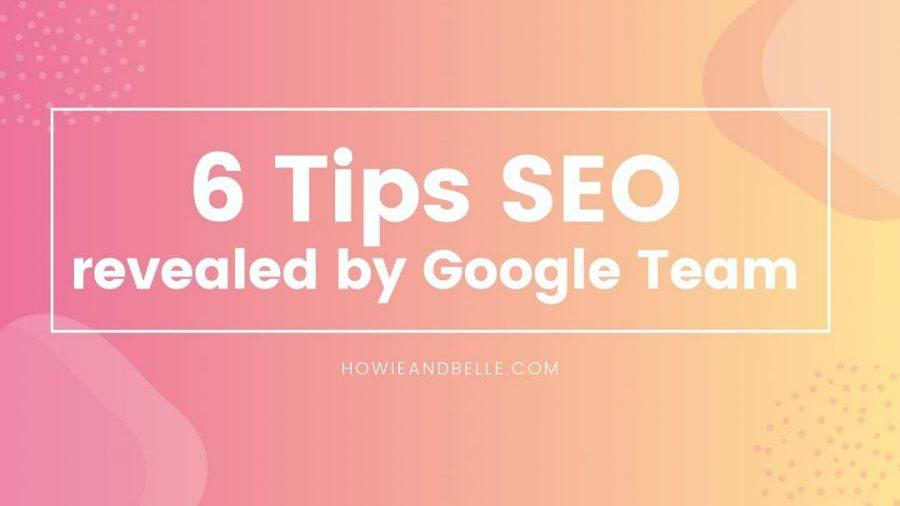 1 - 6 tips seo untuk optimalkan situs di Google Search