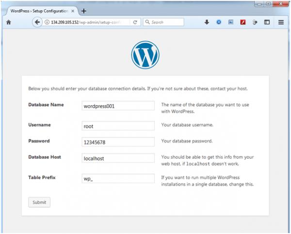 artikel 2 - langkah 10 - 02 - install wordpress
