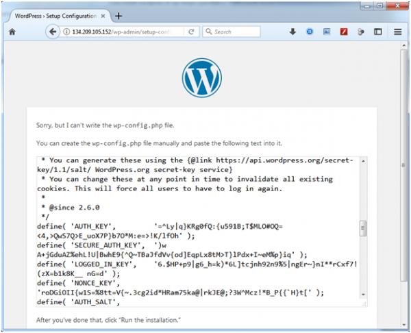 artikel 2 - langkah 10 - 03 - install wordpress