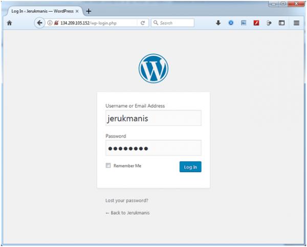 artikel 2 - langkah 10 - 06 - install wordpress
