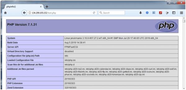 artikel 2 - langkah 6 - setting wp tanpa cpanel - 6 - setting nginx dan php-fpm