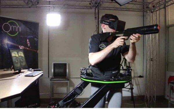 virtual reality video games