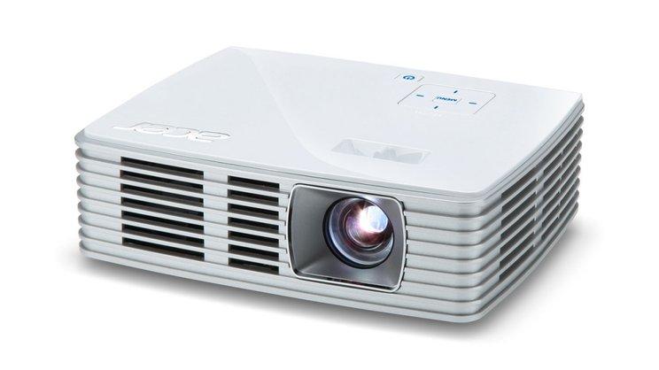 Kelebihan proyektor Acer K135 dengan desain minimalis