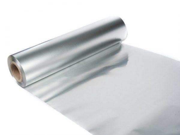 menggunakan alumunium foil