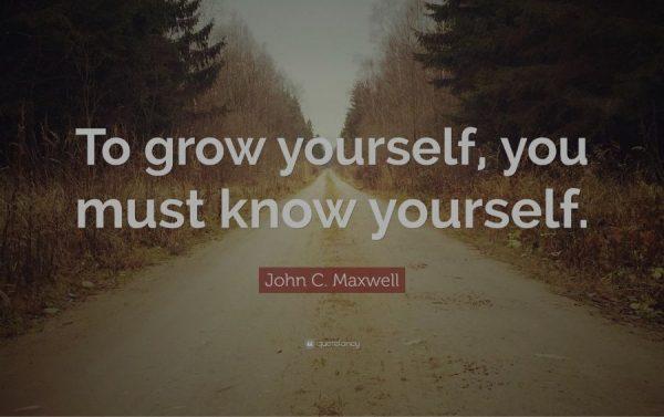 mengenal diri sendiri