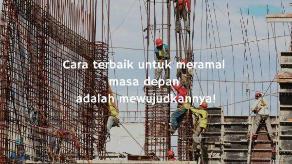 Bekerjalah dengan baik agar kamu dipertemukan dengan orang yang baik pula