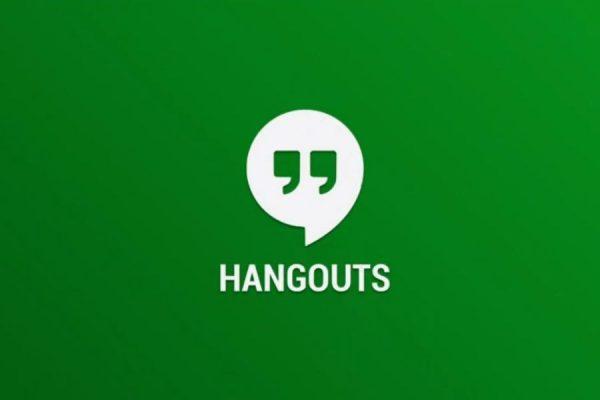 aplikasi untuk kerja di rumah - google hangouts
