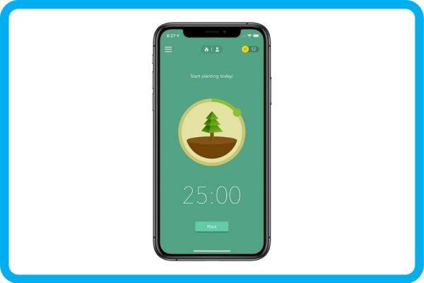 aplikasi untuk kerja dari rumah - forest