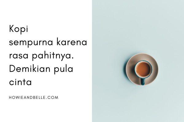 caption tentang segelas kopi