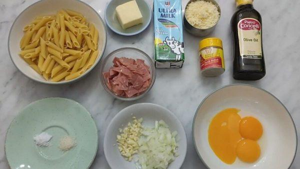 Cara Membuat Pasta Carbonara